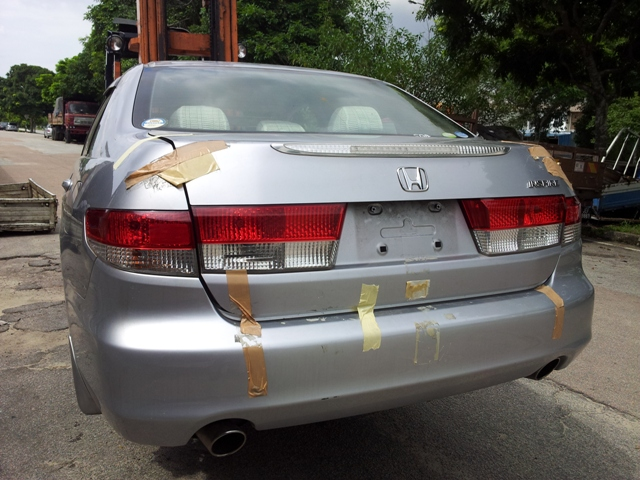 Rear Cut Honda Accord-SDA