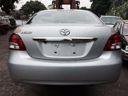 Rear Cut Toyota Vios NCP93 - Rear Cut